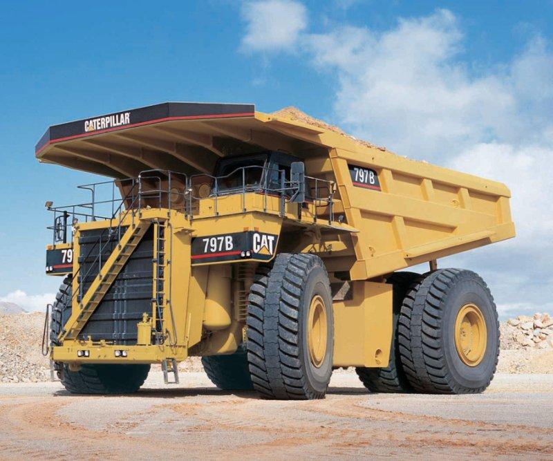 Dumper caterpillar 797f mining