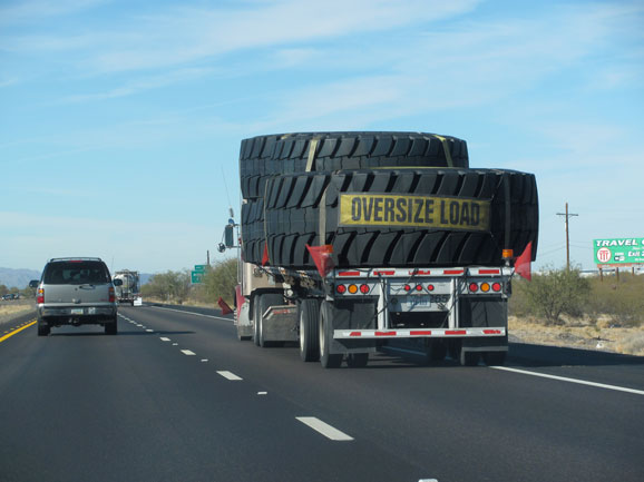 How Big Is The Vehicle That Uses Those Tires Robert