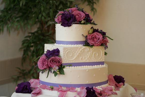 Sky Wedding Cake