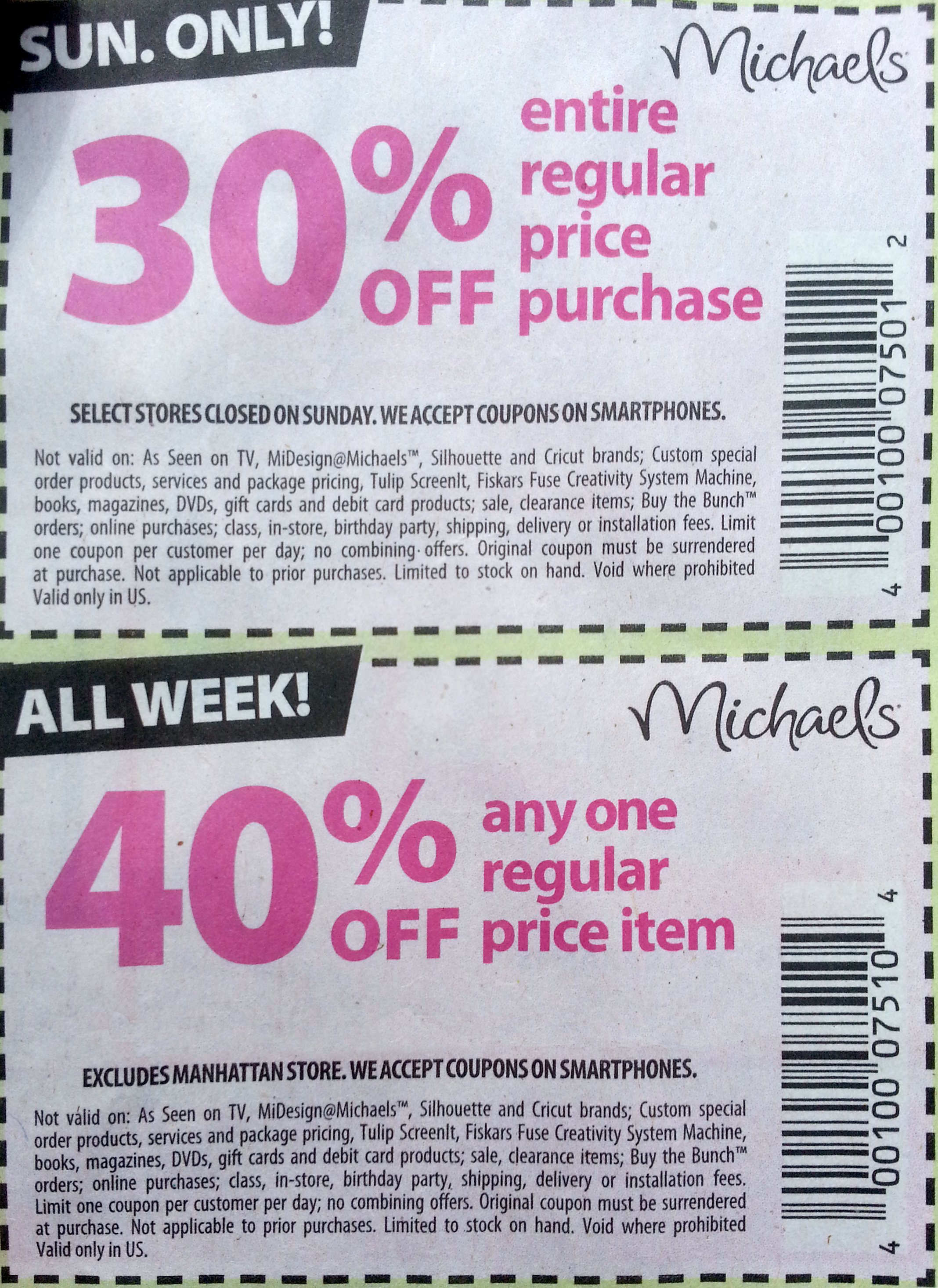 What michaels coupon should i use robert kaplinsky for Coupons michaels arts and crafts