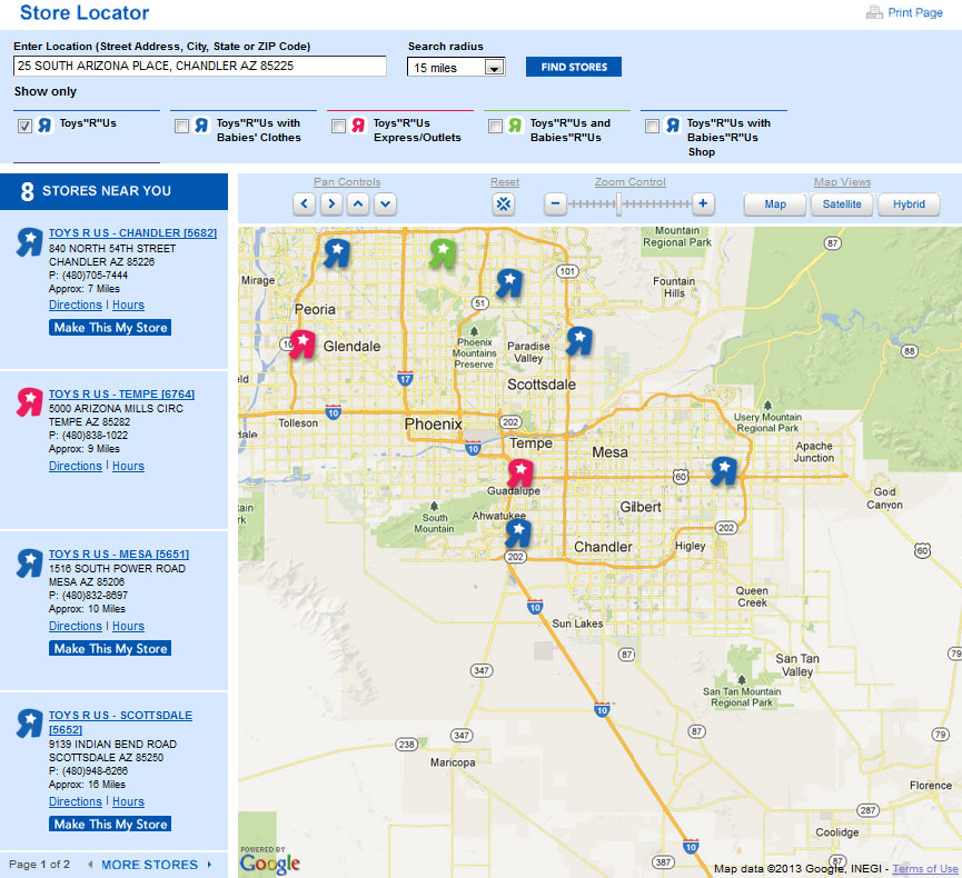 Wheres The Nearest Toys R Us OpenCurriculum - Toys r us map
