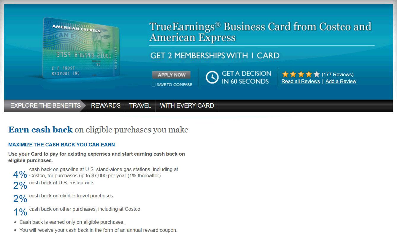 Costco American Express Car Rental Insurance Canada