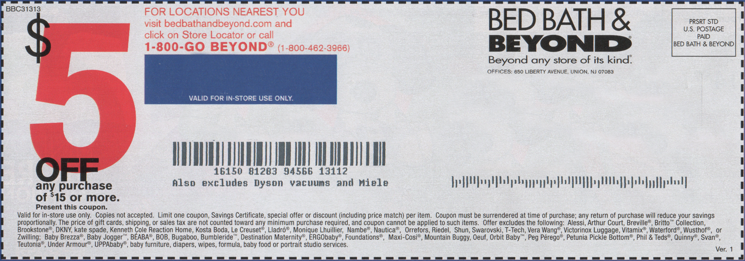 Bed Bath Beyond Online Store Coupon