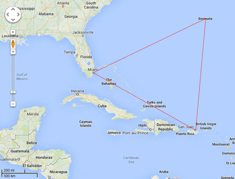 the bermuda triangle The bermuda triangle mystery - the bermuda triangle mystery centers around the numerous disappearances of ships and planes in the area learn about the bermuda.