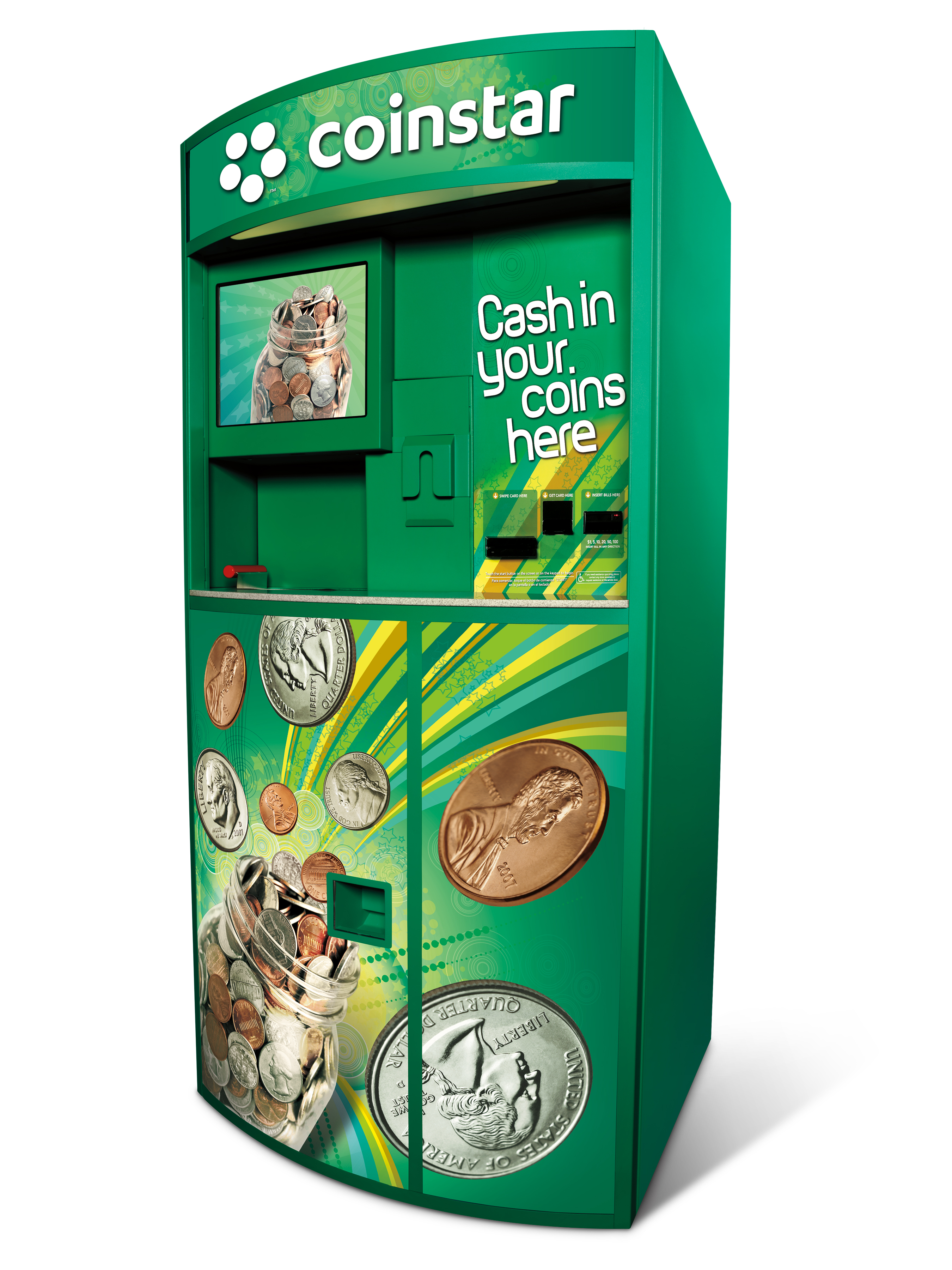 does walmart a coin machine