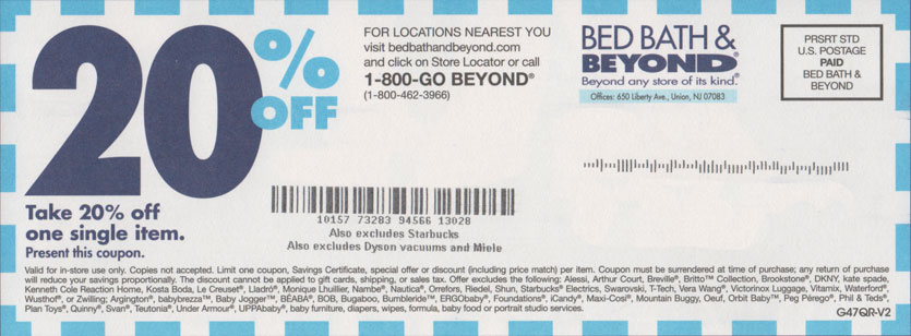 Which Bed Bath Beyond Coupon Should You Use Robert Kaplinsky – Coupon Disclaimer Example
